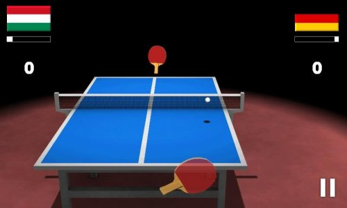 Virtual Table Tennis 3D - Настольный теннис