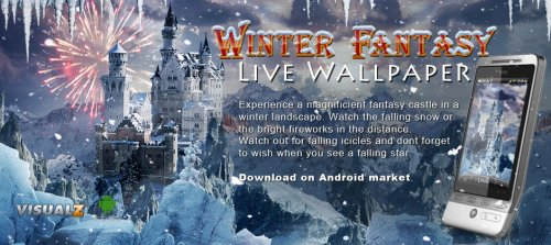 Winter Fantasy Live Wallpaper - Зимняя фантазия