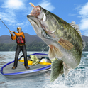 Bass Fishing 3D on the Boat - рыбалка