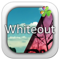 Whiteout GO Launcher EX Theme