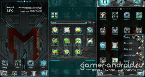Machinarium GO Launcher Theme
