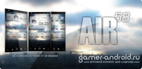 AIR 58 Go Launcher EX Theme