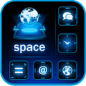 Space GO LauncherEX Theme