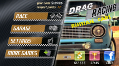 Drag Racing + Russian Cars