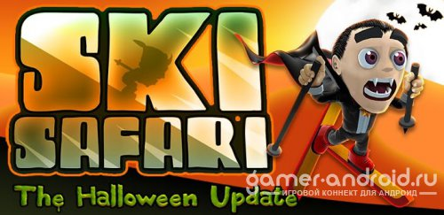 Ski Safari: The Halloween Update