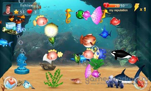 Скачать игру на андроид аквариум