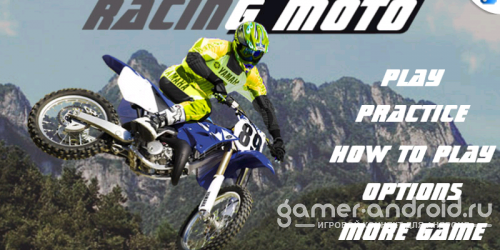 Mountain Racing Moto