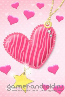 Pink Heart Free Android Live Wallparer