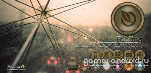 Feeling Go Launcher theme - ���� ��� Go Launcher