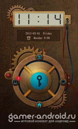 ZH-steampunk GO Locker Theme - тема для GO Locker