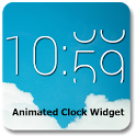 Animated Clock Widget - виджет часов