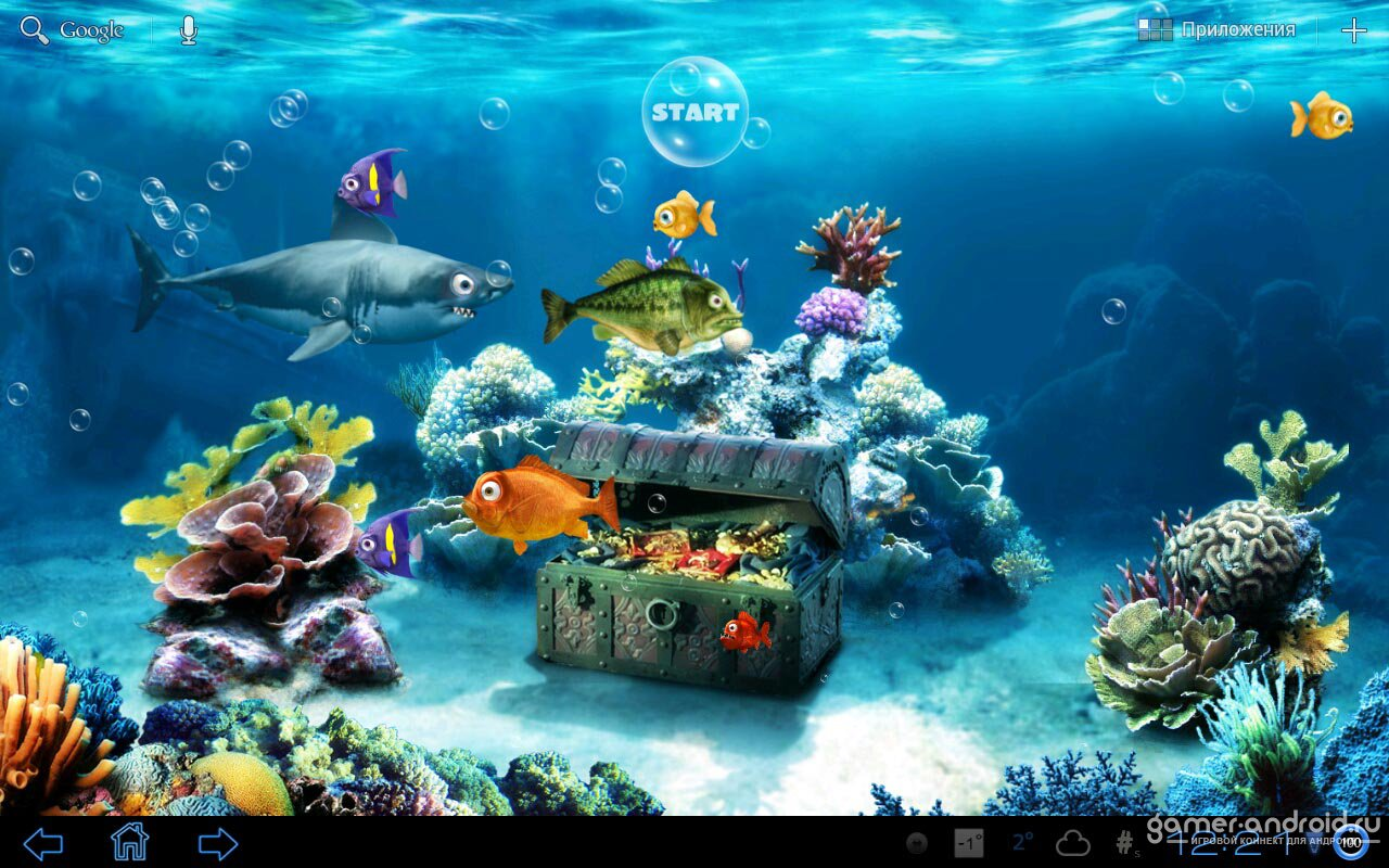 Live fish wallpaper for Fish tank 3d live wallpapers