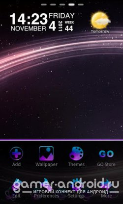 Starry Light Theme GO Launcher