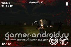 Zombie Attack Shooting Game - зомби атакуют