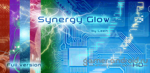 Synergy Glow HD Live Wallpaper