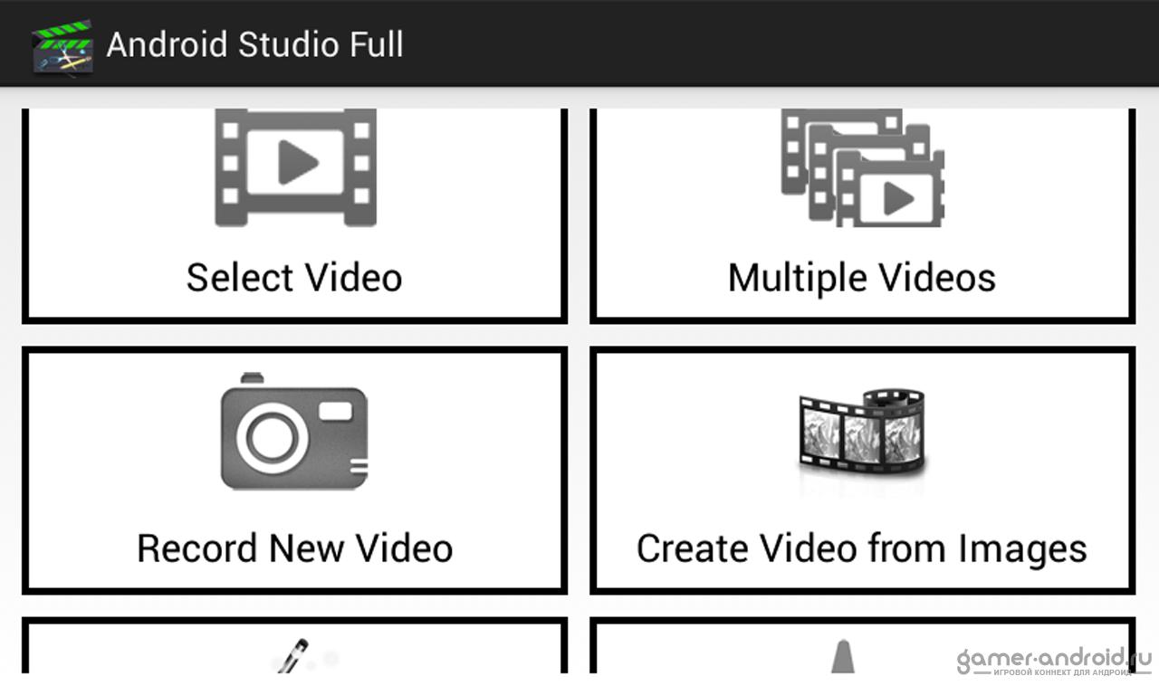 Программа для создания видео для андроида