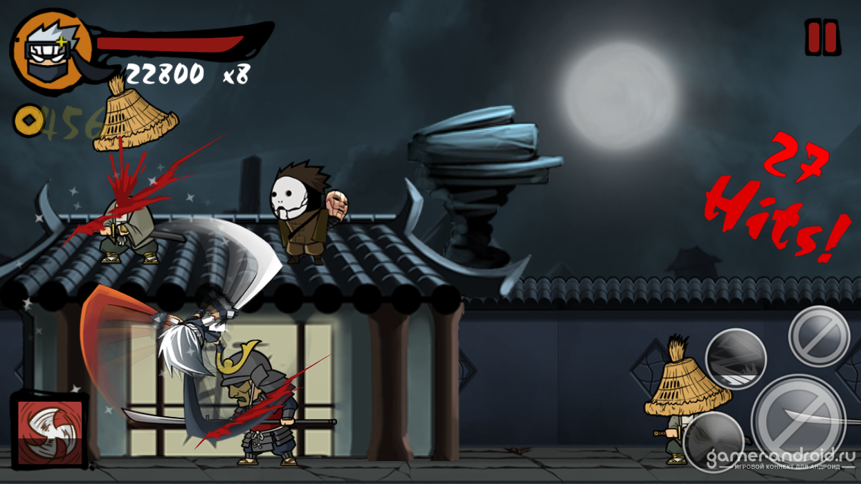 Скачать Clumsy Ninja v (Много денег) на Андроид