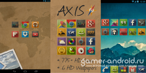 Axis - GO Apex Nova Theme
