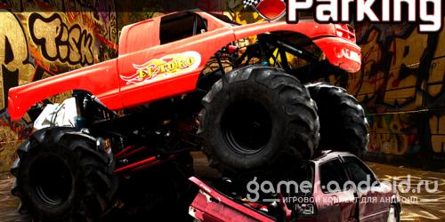 Monster truck парковка 3d