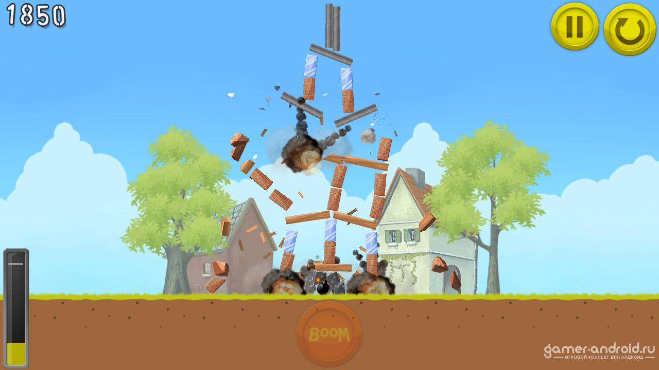 игра boom land