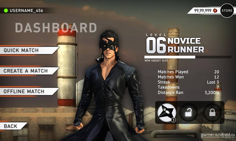 Скачать Krrish 3: The Game для Android бесплатно: gamer-android.ru/game/arcade/6728-krrish-3-the-game.html