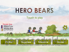 Help for Heroes : Hero Bears - медведи спасатели