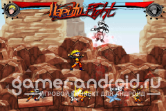 Naruto Fight Shadow Blade X - Наруто файтинг для Android