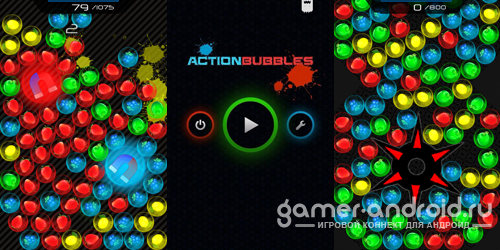 Action Bubbles