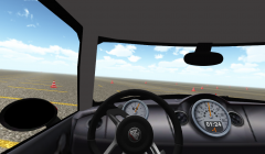 Slalom Racing Simulator - гонки