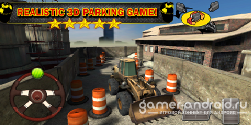 Construction Parking 3D Truck