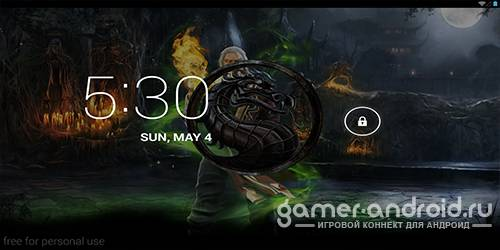 Mortal Kombat 3D Live Wallpaper