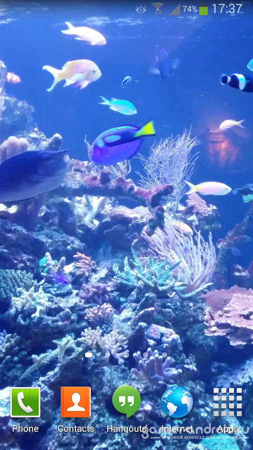 Aquarium Live Wallpaper HD 2