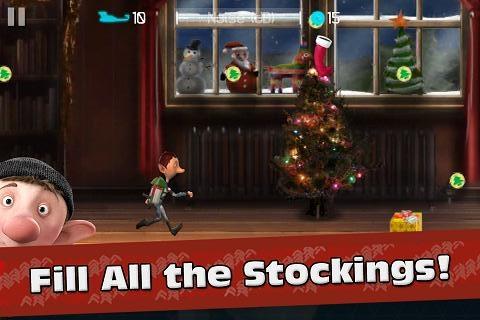 Arthur Christmas Elf Run - рождественские приключения эльфов