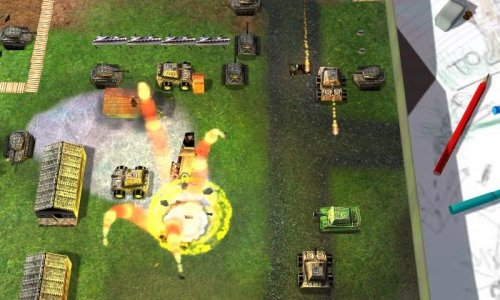 Tank-O-Box - танчики для android