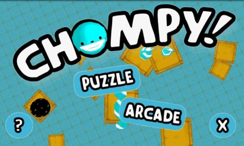 Chompy! - собери конфеты