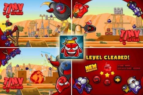 Tiny Monsters - Аналог Angry Birds