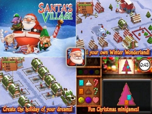 Santa's Village - Мастерская Деда Мороза!