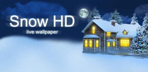Snow HD - Живые обои