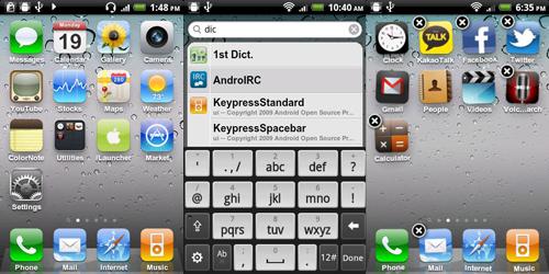 iLauncher - Превращаем Андроид в iPhone