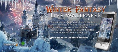 Winter Fantasy Live Wallpaper - Зимняя фантазия