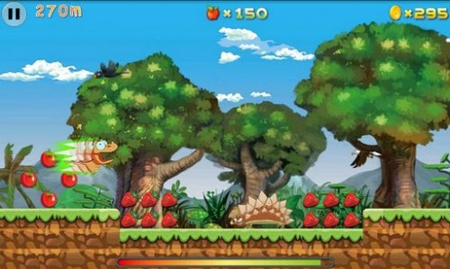 Croco Runner - фруктовая аркада