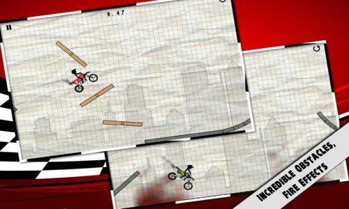 Stick Stunt Biker - Мото триал