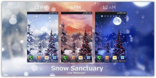 Snow Sanctuary - Новогодние обои