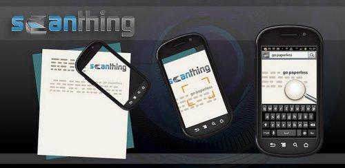 Scanthing - Распознавание текста