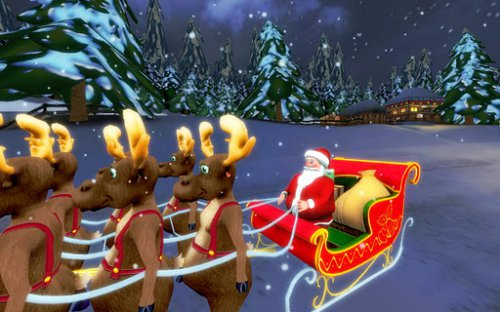 Santa Ride! HD - Помоги Санте