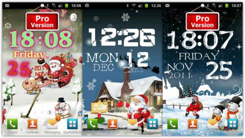 Merry Christmas Live Wallpaper - Живые новогодние обои