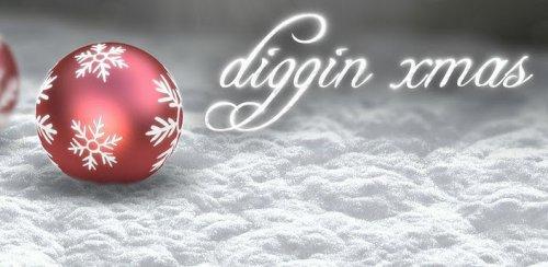 Diggin Xmas donate - Рождественские обои