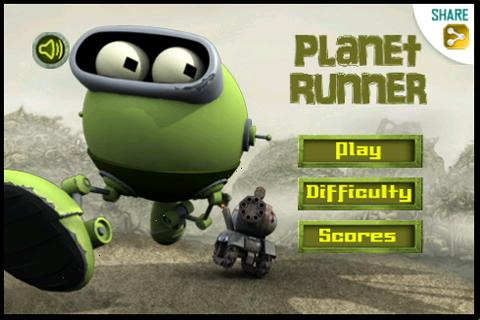 Planet Runner - Храбрый робот