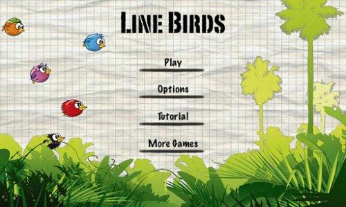 Line Birds - Птицы
