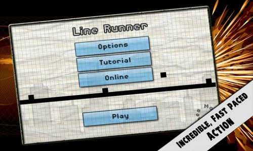 Line Runner - Человечек